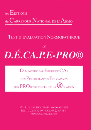 Diagnostic par Étude de cas des Performances Educatives des PROfessionnels de la relation